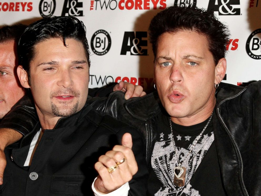 PHOTO: Corey Feldman, and Corey Haim attend an event on July 27, 2007, in Hollywood Calif.