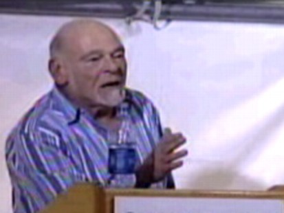 VIDEO: Media mogul Sam Zell curses at one of his photographers during a staff meeting.