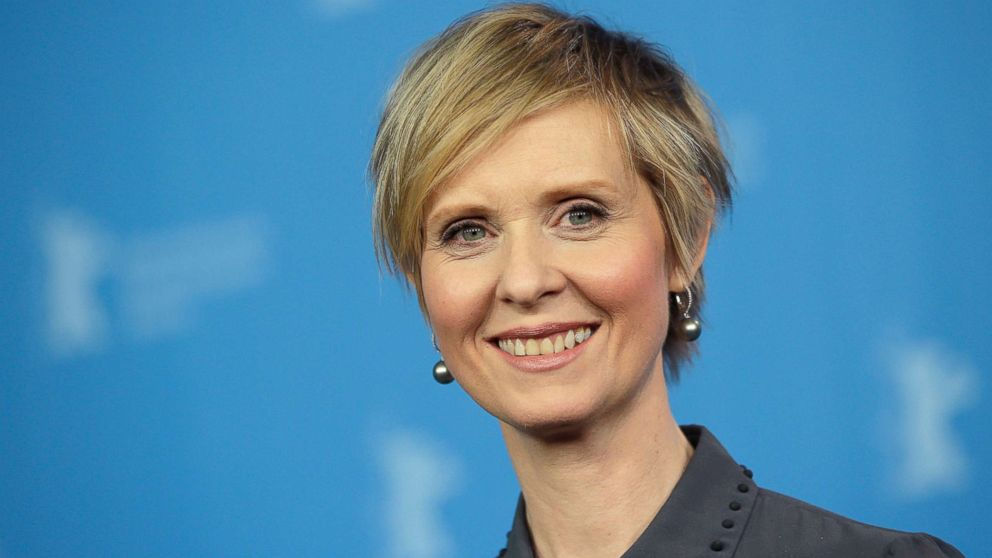 'Sex and the City' star Cynthia Nixon kicks off NY governor's bid
