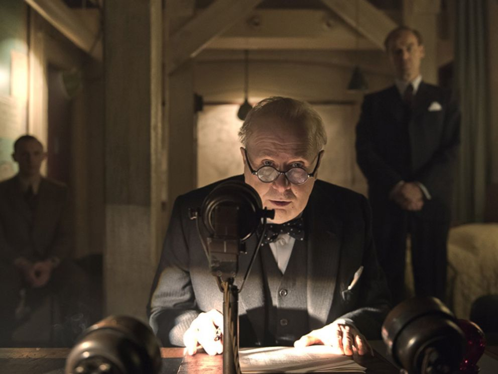 PHOTO: Gary Oldman in Darkest Hour.