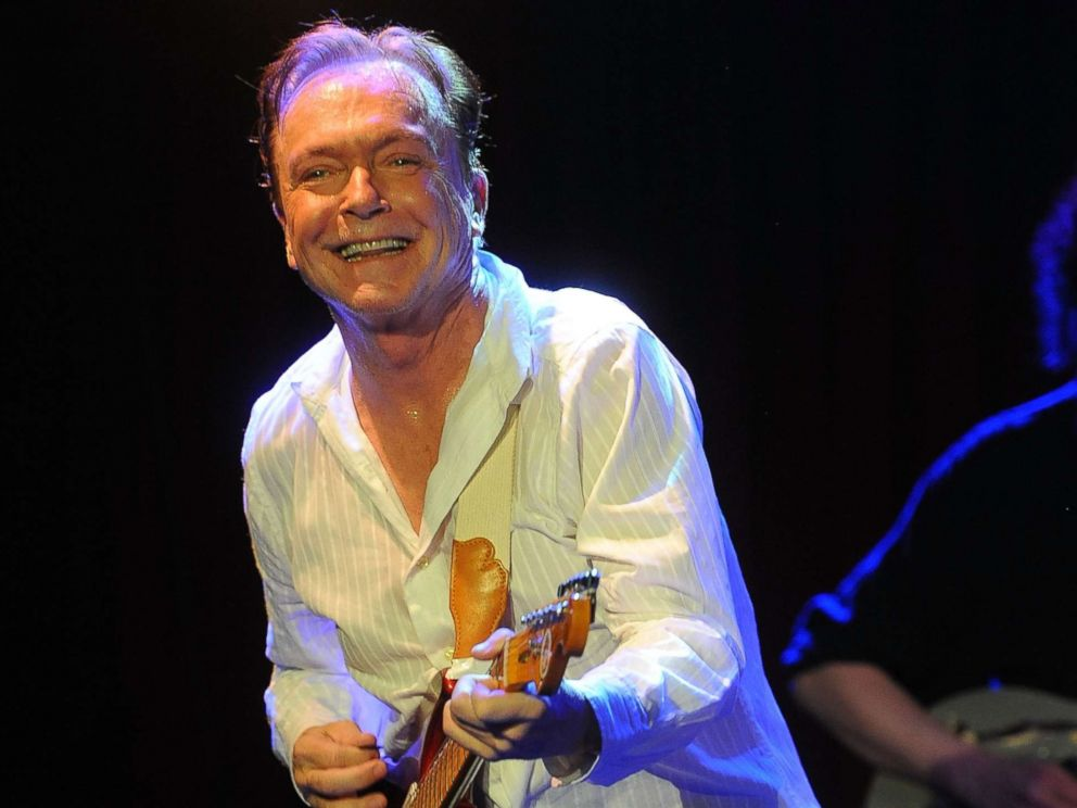 PHOTO: David Cassidy performs his final touring concert at B.B. King Blues Club & Grill, March 4, 2017 in New York City.