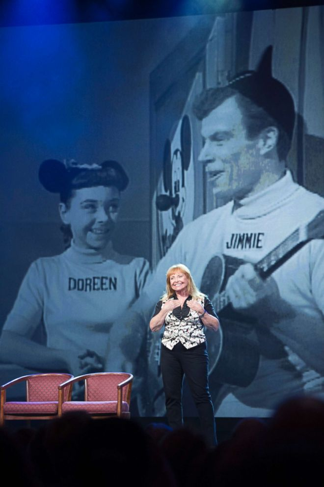 PHOTO: Doreen Tracey at the D23 Expo at the Anaheim Convention Center.