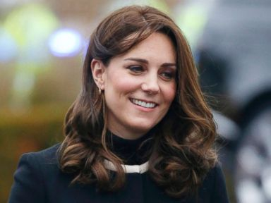 Duchess Kate goes for a test drive