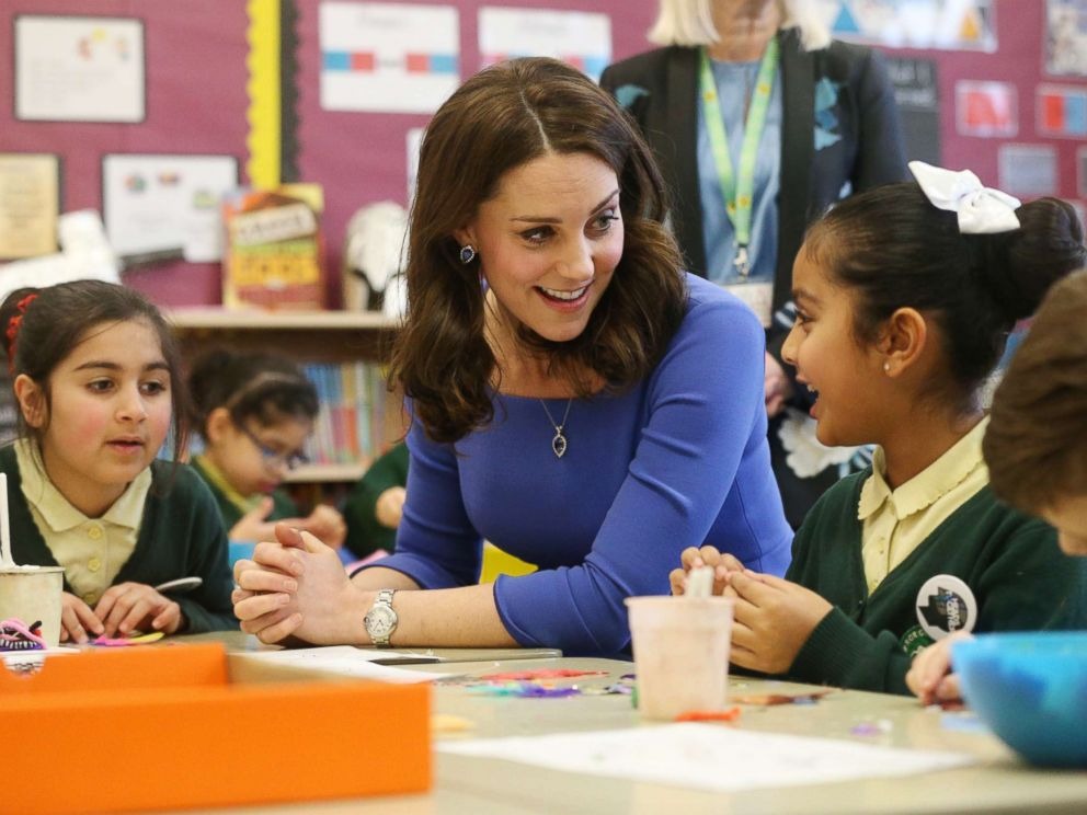 Duchess Catherine made appearances to support an important cause: mental health