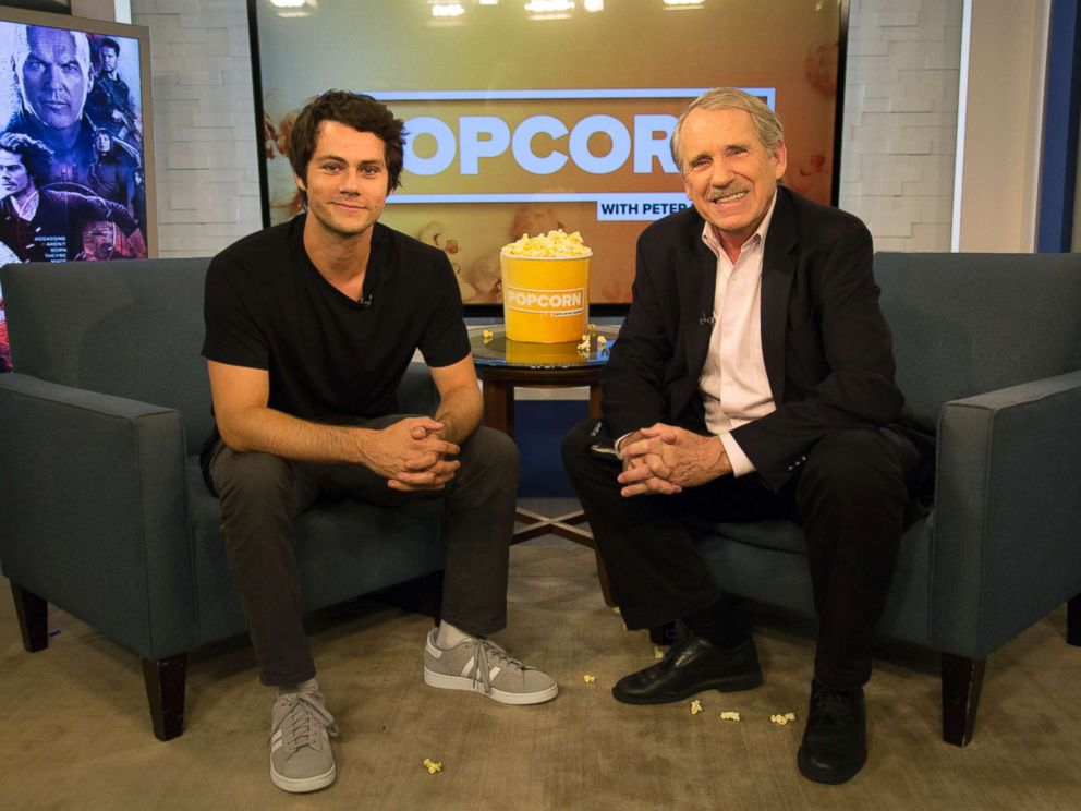 PHOTO: Dylan OBrien appears on Popcorn with Peter Travers at ABC News studios, Sept. 7, 2017, in New York City.