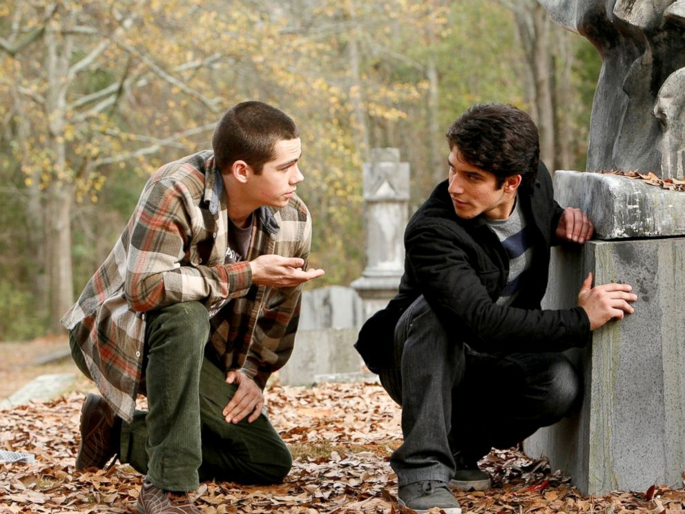 PHOTO: Dylan OBrien, left, and Tyler Posey in a scene from Teen Wolf.
