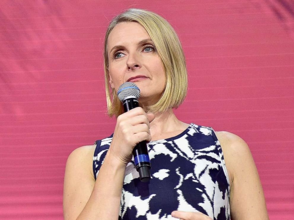 PHOTO: Author Elizabeth Gilbert speaks onstage during Creative Living Beyond Fear: Traveling with Curiosity at The Orpheum Theatre, Nov. 18, 2016 in Los Angeles.