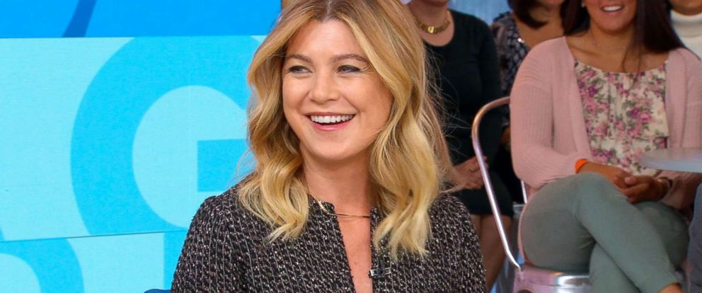"""PHOTO: Actress Ellen Pompeo discusses the 300th episode of """"Greys Anatomy"""" on """"Good Morning America."""""""