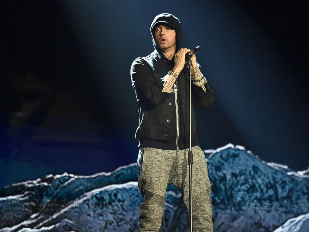 Eminem Talks 'Revival,' Drugs, Dre and Trump in Interview With Elton John