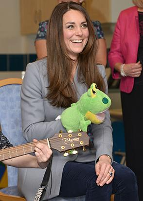 What?s Making Kate Middleton Laugh?