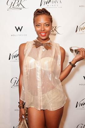 Top Model Eva Marcille Looks Near-Naked