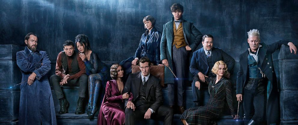 """PHOTO: Cast of """"Fantastic Beasts and Where to FInd Them: The Crimes of Grindelwald."""""""