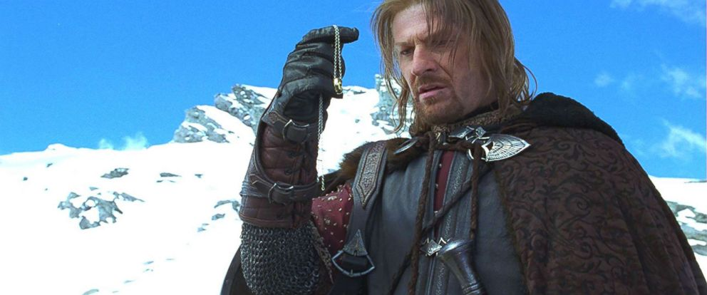 "PHOTO: Sean Bean appears in a scene in ""The Lord of the Rings: The Fellowship of the Ring."""