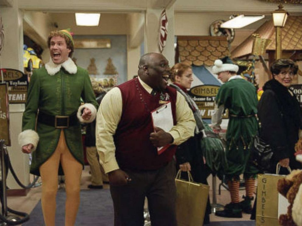 PHOTO: Will Ferrell and Faizon Love in Elf, 2003.