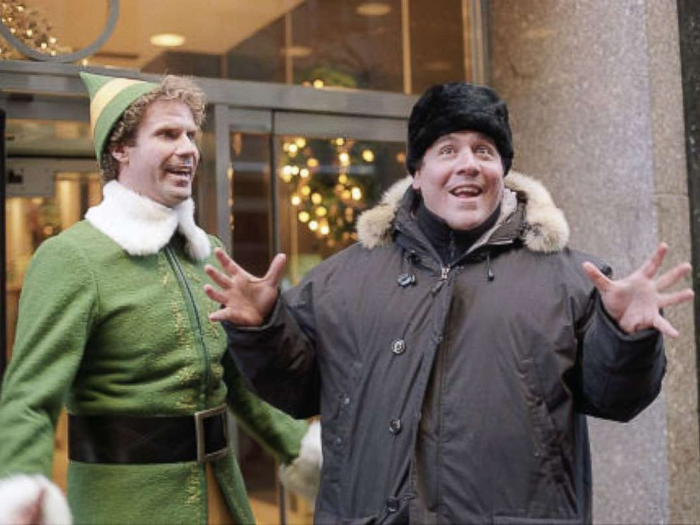 PHOTO: Will Ferrell and Jon Favreau in Elf, 2003.