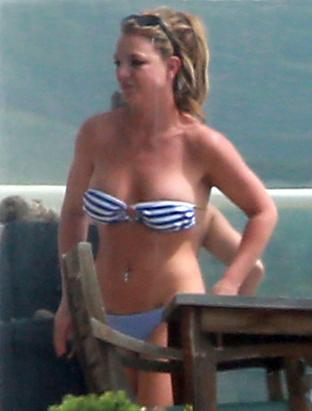 Britney Spears's Beach Bod