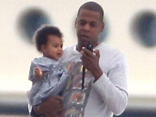 Photos: Jay-Z Takes Blue Ivy Out to Sea