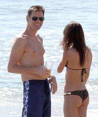 Jim Carrey and Hot New Girlfriend
