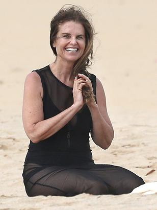 Maria Shriver  Sans Make-up