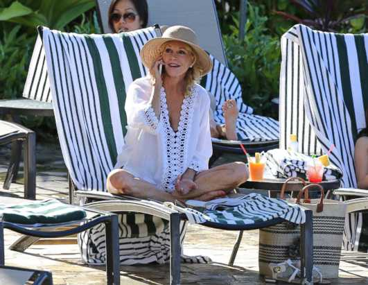 Melanie Griffith Shines on Hawaii Five-O Set