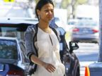 Zoe Saldana Steps Out Three Months After Having Twins