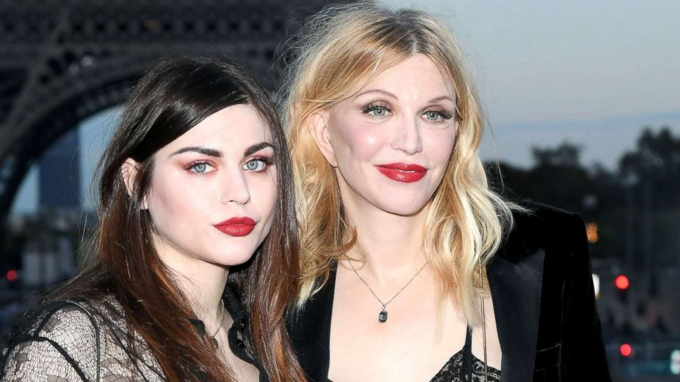 Courtney Love and Frances Bean Cobain pay tribute to Kurt Cobain