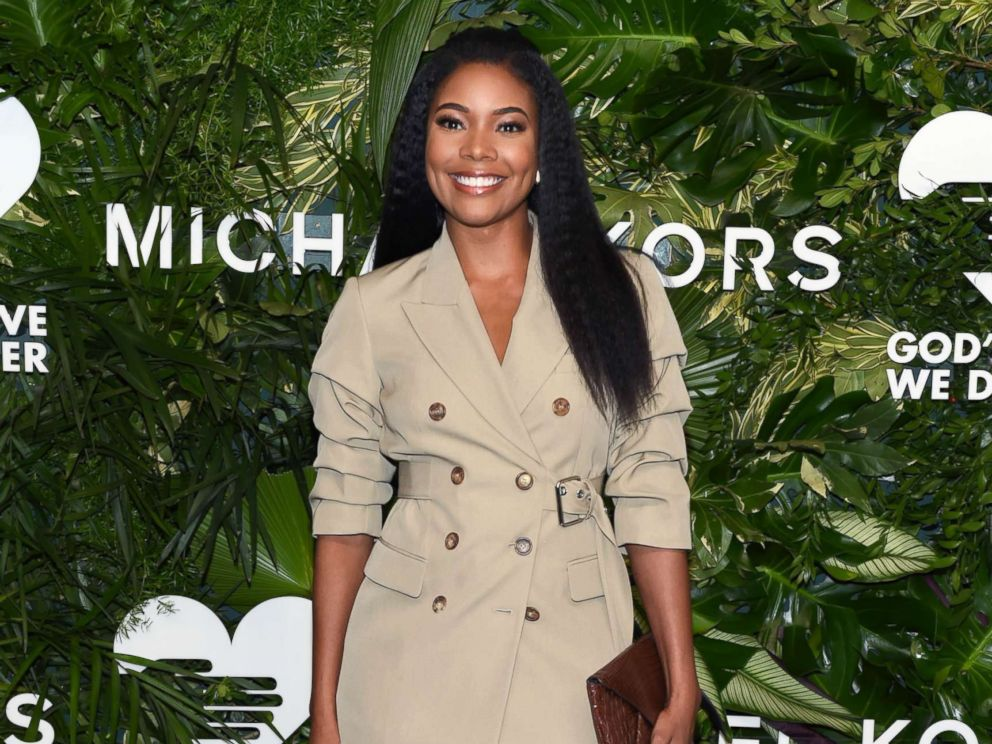 PHOTO: Gabrielle Union at the 11th Annual Gods Love We Deliver Golden Heart Awards, in New York City, Oct. 16, 2017.