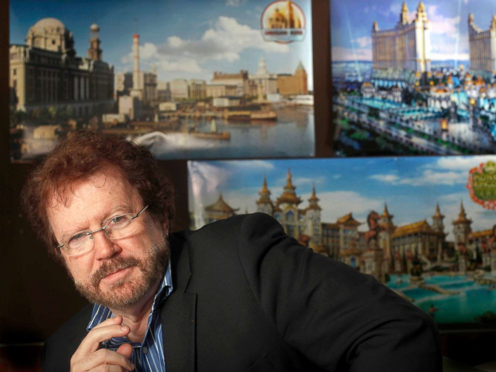 PHOTO: Gary Goddard Entertainment founder, Gary Goddard, at his North Hollywood office, Jan. 15, 2015.