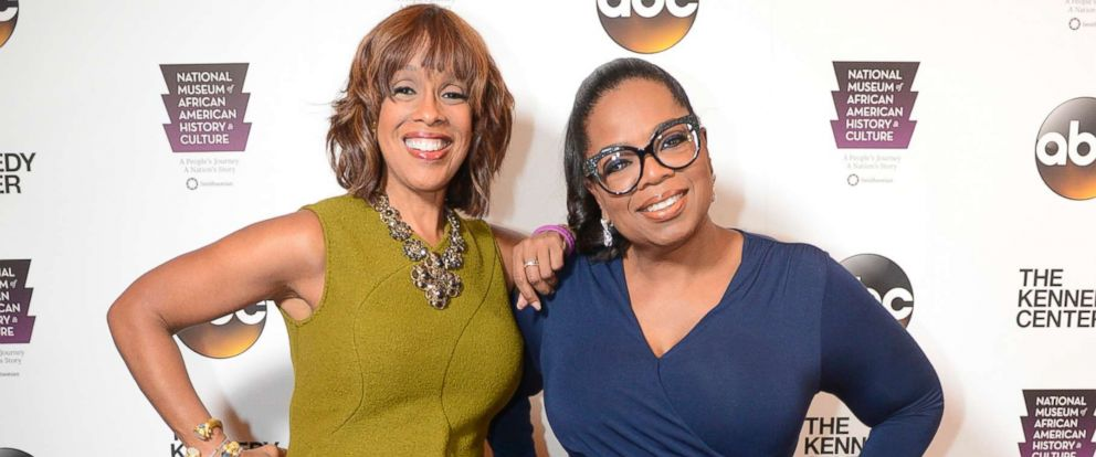 "PHOTO: Gayle King and Oprah Winfrey attend ""Taking the Stage - African American Music and Stories that Changed America,"" Sept, 23, 2016 at the Kennedy Center in Washington D.C."