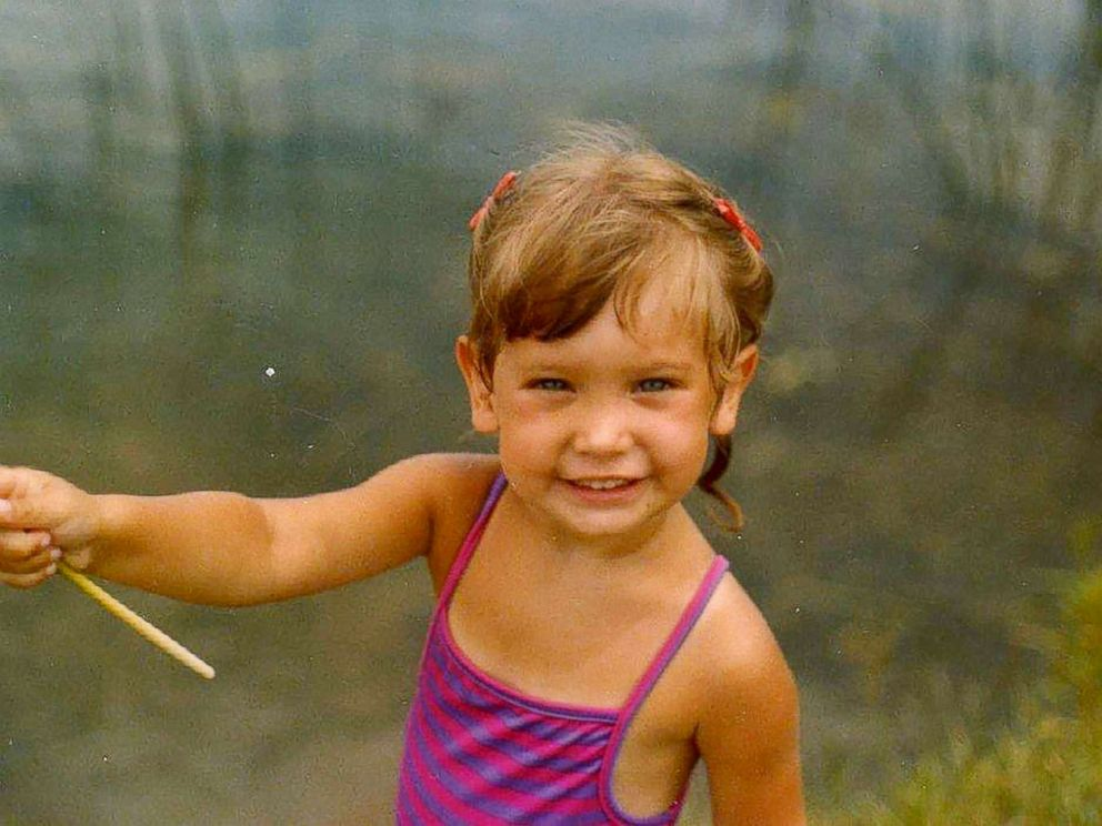 PHOTO: ABC News chief meteorologist Ginger Zee is photographed here as a toddler in this undated family photo.