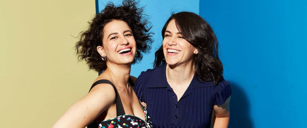 "PHOTO: Ilana Glazer and Abbi Jacobson of ""Broad City"" pose for a portrait during the 2017 Summer Television Critics Association Press Tour at The Beverly Hilton Hotel, on July 25, 2017, in Beverly Hills, Calif."