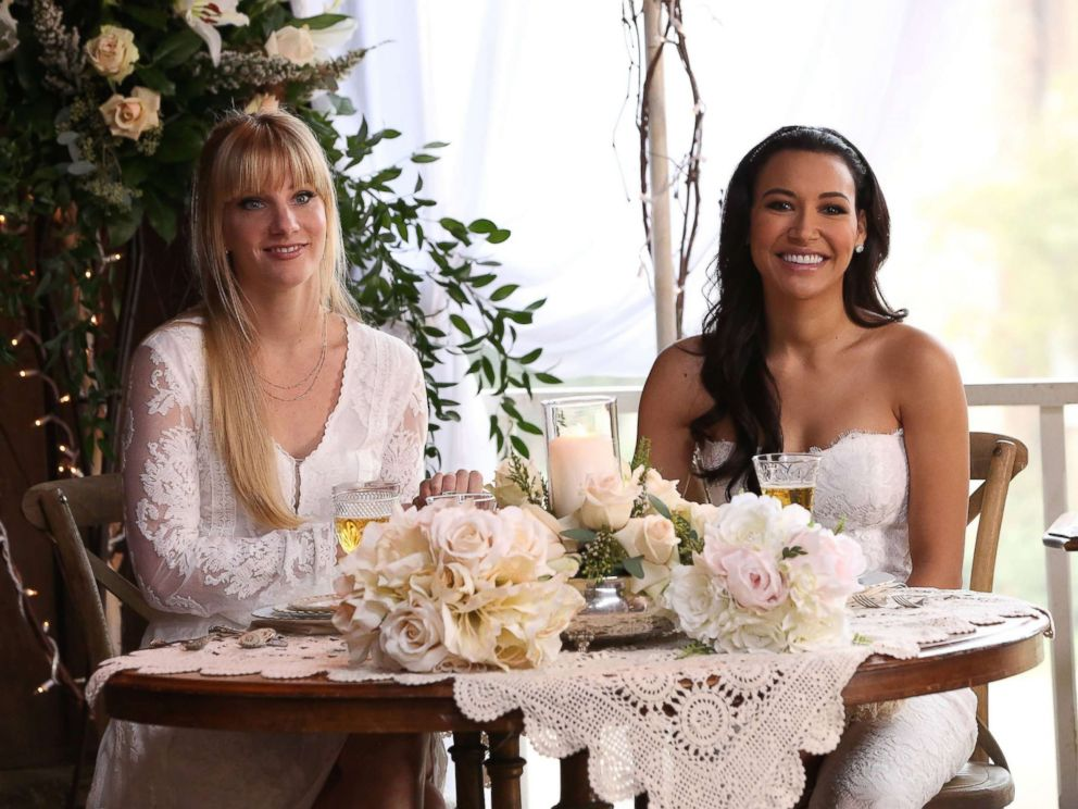 FOX via Getty Images Santana and Brittany tie the knot in the