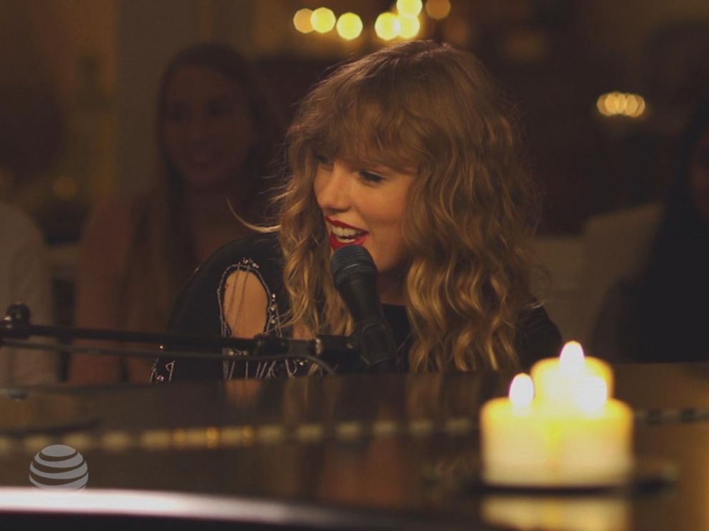 PHOTO: Taylor Swift, 27, performed a new song from her upcoming album in a special performance that aired during Scandal on ABC.