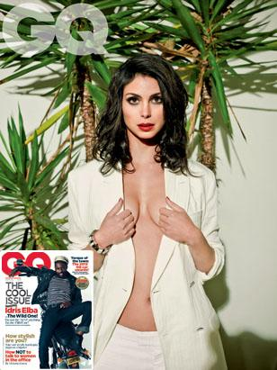 Morena Baccarin on British GQ