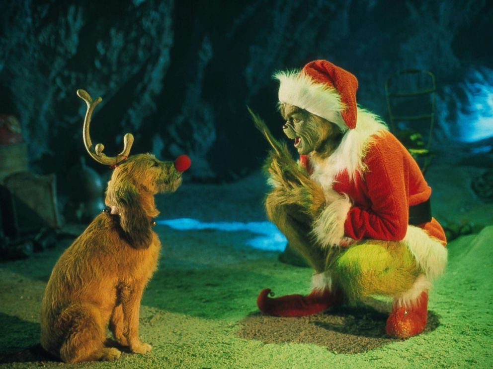 photo jim carrey appears in a scene in how the grinch stole christmas