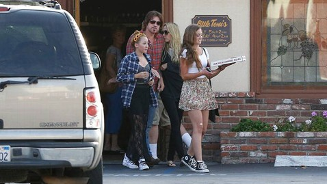 gsi billy ray mi 130624 wblog New Photo: Billy Ray Cyrus and Tish Cyrus Step Out Together