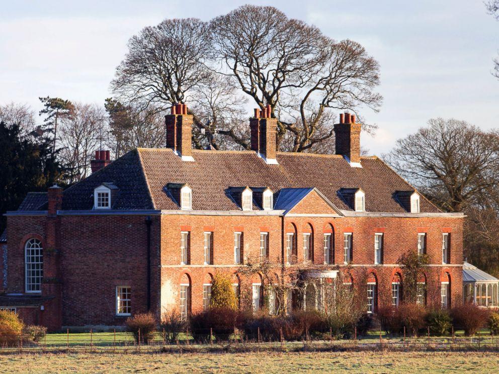PHOTO: Anmer Hall on the Sandringham Estate, Jan. 13, 2013 in Kings Lynn, England.