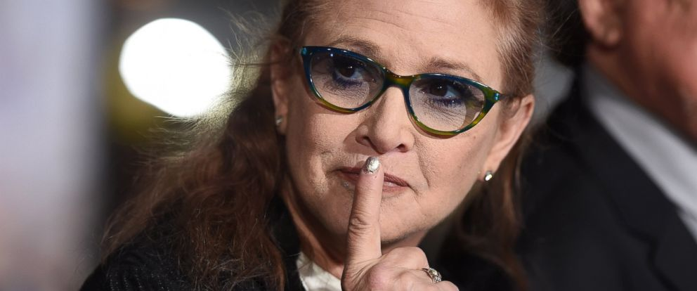 PHOTO: Carrie Fisher arrives at a movie premiere on Nov. 3, 2014 in Westwood, Calif.