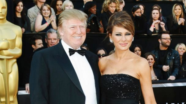 PHOTO: Donald and Melania Trump appear on the red carpet before the 83rd Academy Awards ceremony on Feb. 27, 2011 in Hollywood, Calif.