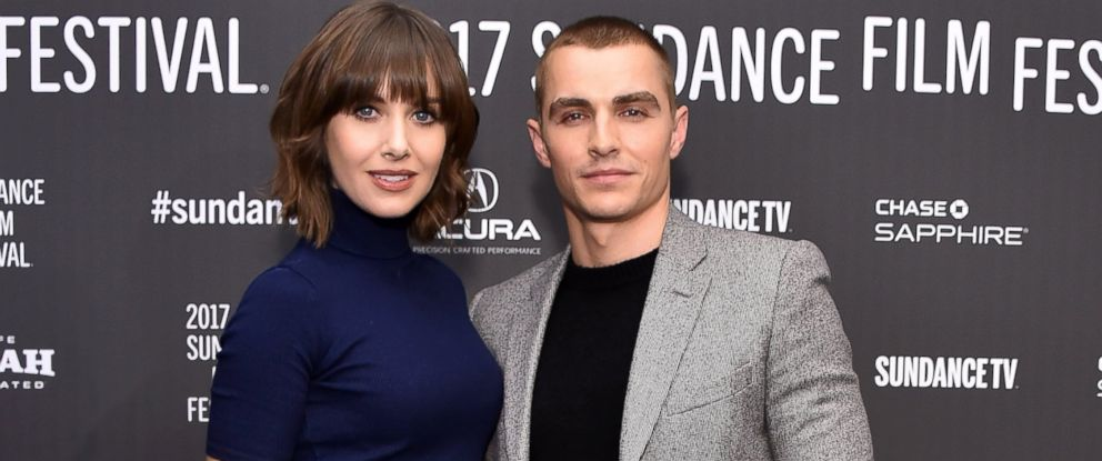 "PHOTO: Alison Brie and Dave Franco attend ""The Little Hours"" premiere during day 1 of the 2017 Sundance Film Festival, Jan. 19, 2017, in Park City, UT."