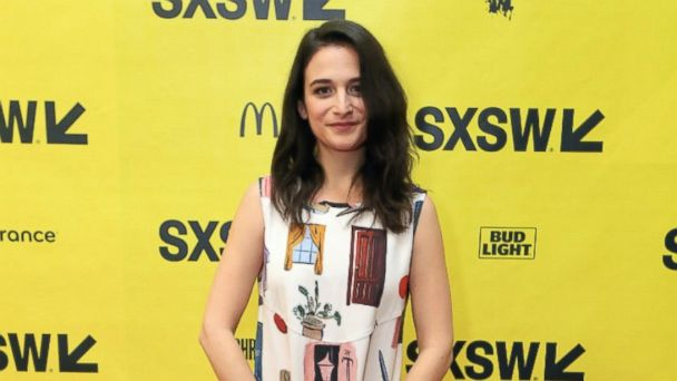 PHOTO: Jenny Slate attends Glamour hosts A Conversation with Jenny Slate, Gabby Sidibe, Janicza Bravo, Danielle Macdonald and Cindi Leive at SXSW at Austin Convention Center on March 11, 2017 in Austin, Texas.