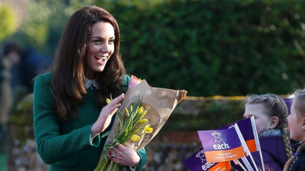 PHOTO: Catherine, Duchess of Cambridge. arrives for a visit at East Anglia's Children's Hospices (EACH) in Quidenham, England, Jan. 24, 2017.