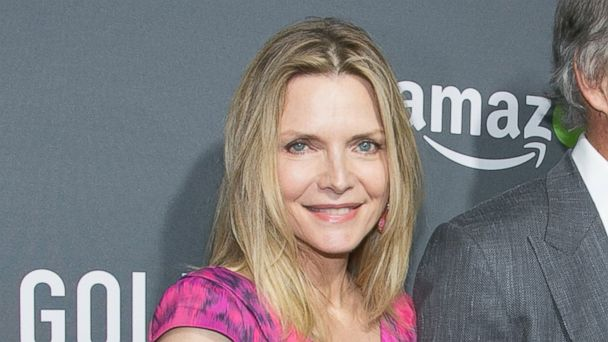 PHOTO: Michelle Pfeiffer arrives for the premiere of Amazon's