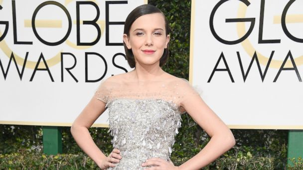 PHOTO: Millie Bobby Brown attends the 74th Annual Golden Globe Awards at The Beverly Hilton Hotel on Jan. 8, 2017 in Beverly Hills, Calif.