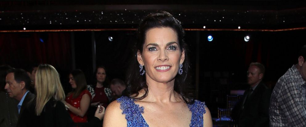 """PHOTO: Nancy Kerrigan attends """"Dancing with the Stars,"""" March 20, 2017, in Los Angeles."""