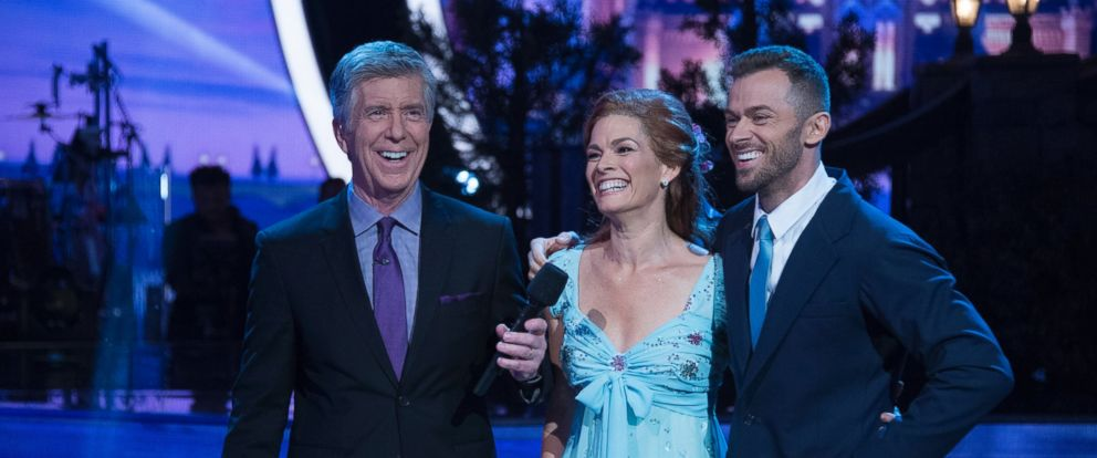 PHOTO: Olympian Nancy Kerrigan on Dancing with the Stars, April 17, 2017 in Los Angeles, Calif., on The ABC Television Network.