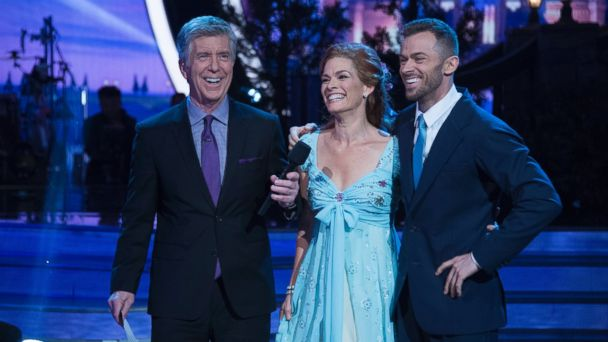 PHOTO: Olympian Nancy Kerrigan on 'Dancing with the Stars', April 17, 2017 in Los Angeles, Calif., on The ABC Television Network.