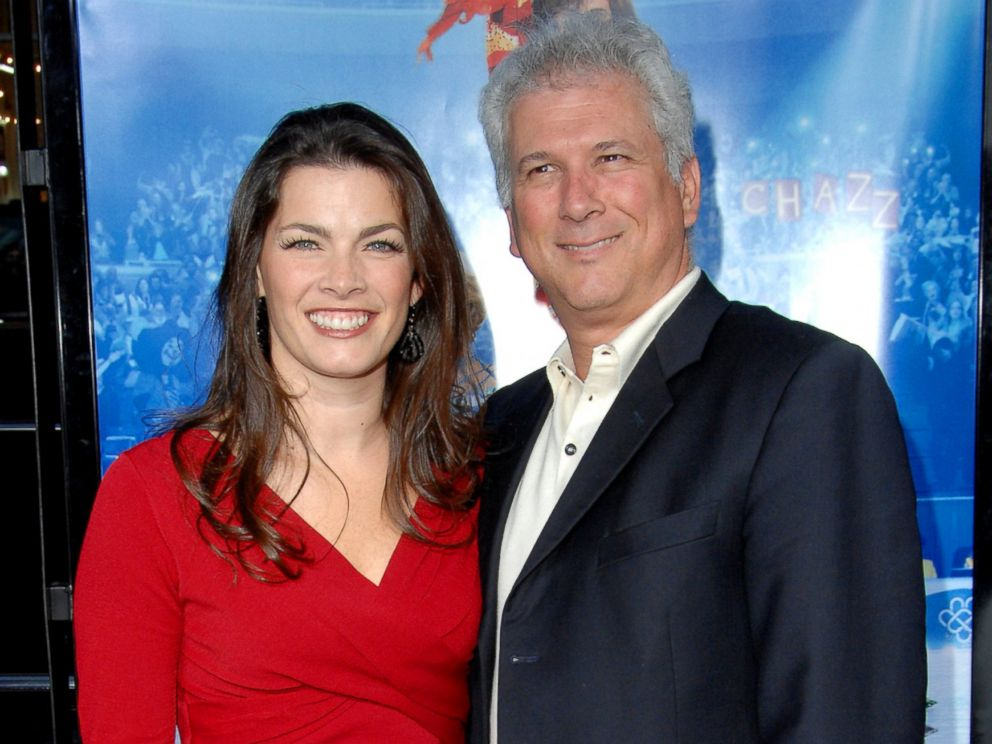 PHOTO: Nancy Kerrigan and husband Jerry Solomon during Blades Of Glory Los Angeles Premiere - Arrivals at Graumans Chinese Theatre in Hollywood, Cali.
