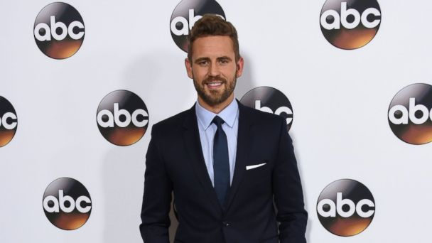 PHOTO: Nick Viall arrives at the Disney ABC Television group Winter TCA Press Tour at the Langham Huntington Hotel in Pasadena, California on Jan. 10, 2017.