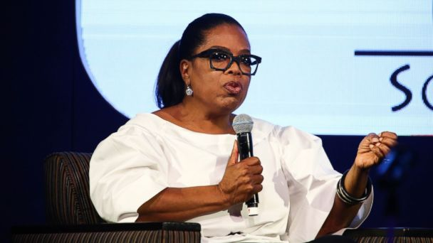 PHOTO: Oprah Winfrey speaks during an event, Dec. 2, 2016 in Johannesburg, South Africa.